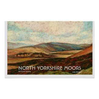 North Yorkshire Moors Print/Poster.. print