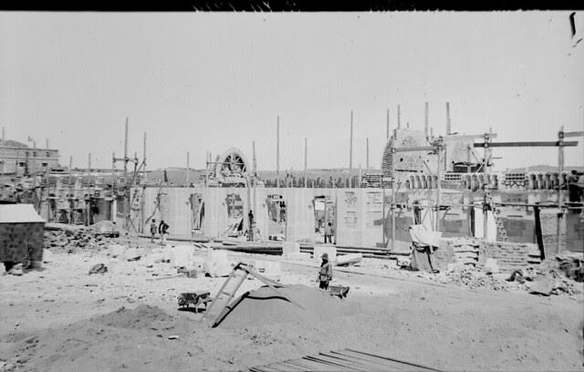 Estación de ferrocarril de Toledo el 23 de agosto de 1914  © Archivo Histórico Ferroviario del Museo del Ferrocarril de Madrid. Fotografía de F. Salgado. Signatura 0459-IF MZA 0-3