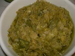 zucchini paste