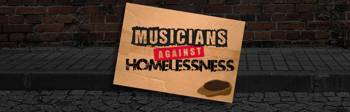 Image result for james musicians against homelessness video