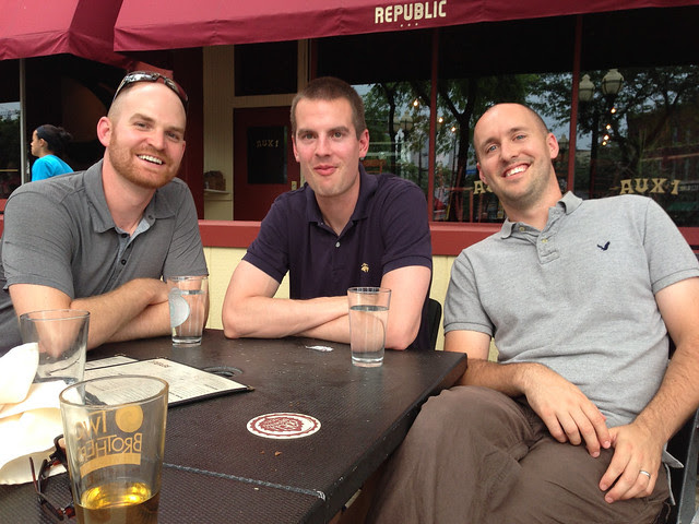 Nate, Andy and Ben at Republic