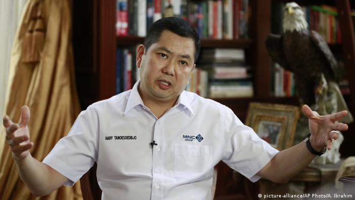 Indonesien Hary Tanoesoedibjo Geschäftsmann und Trump Freund (picture-alliance/AP Photo/A. Ibrahim)