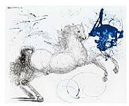 Salvador Dalí - Pegasus: From the Mythology Suite (Works on Paper (Drawings, Watercolors etc.))