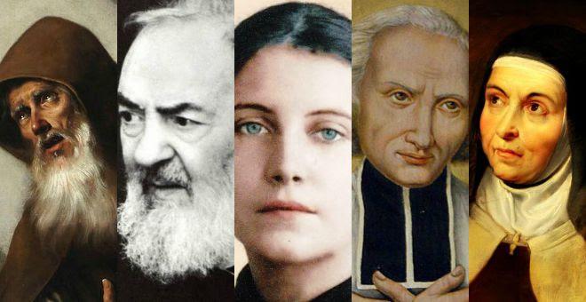 La storia straordinaria di 5 santi che hanno lottato contro i demoni