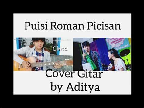 puisi roman picisan cover gitar  aditya youtube