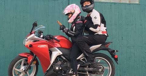 Cuộc sống Toronto- Lần đầu chạy xe mô tô tham quan thành phố - First Motorcycle Vlog