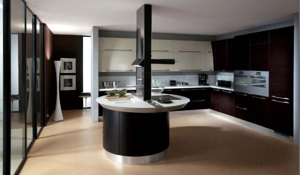modernes Küchendesign Scavolini rot Fabrizio Giugiaro design