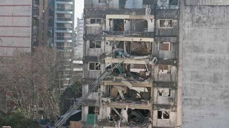Tareas de rescate en Rosario