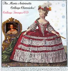 Marie Antoinette Collage Chronicles CD