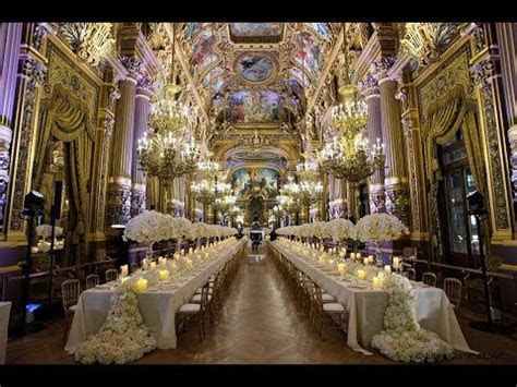 The most breathtaking wedding at Opera Garnier Paris