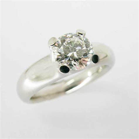 Chunky claw set diamond solitaire   McIntosh Bespoke Jewellery