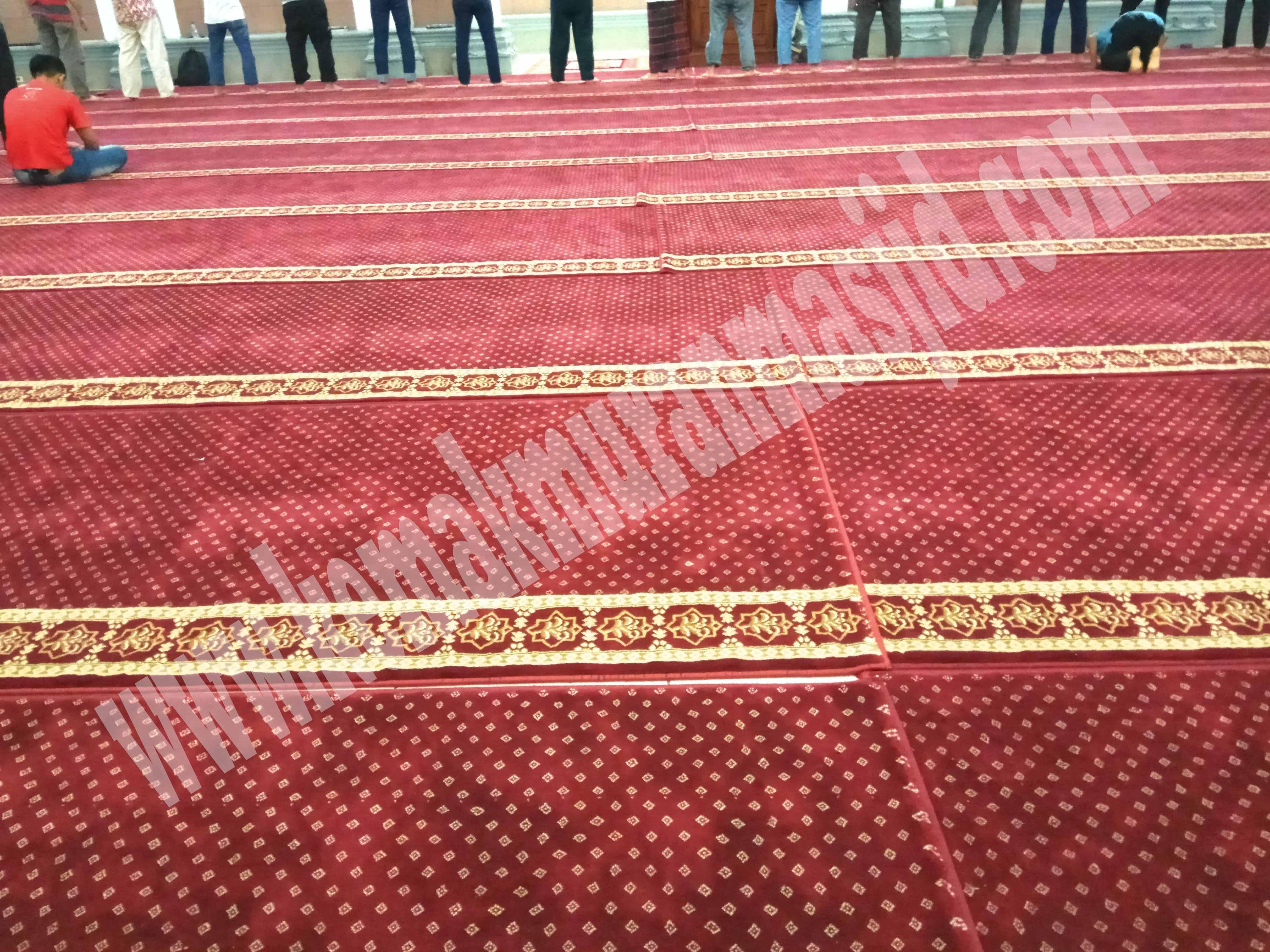 jual karpet masjid di makassar harga ekonomis Al Husna
