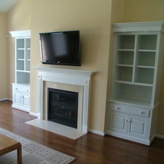 Fireplace Cabinets Stiglers Woodworks Cincinnati Oh