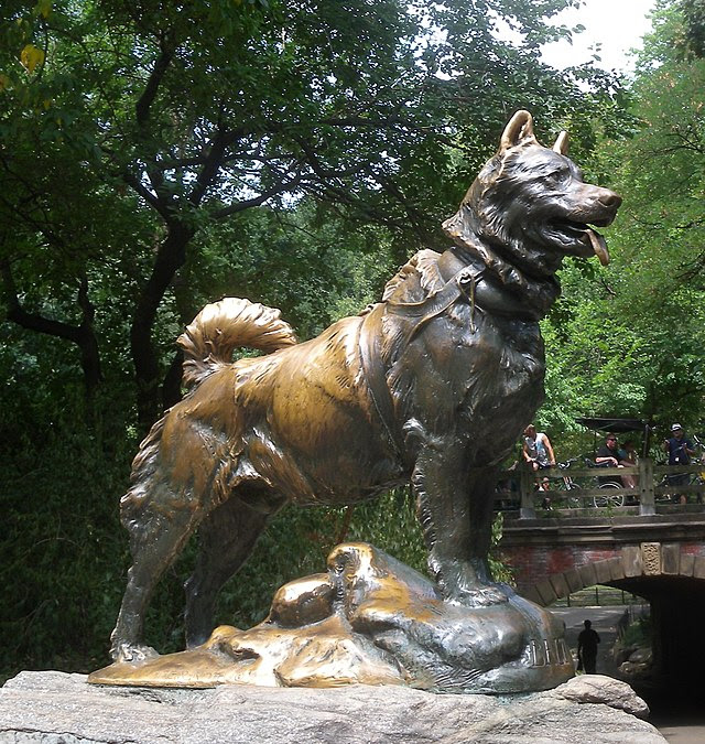 Balto-Statue im Central Park