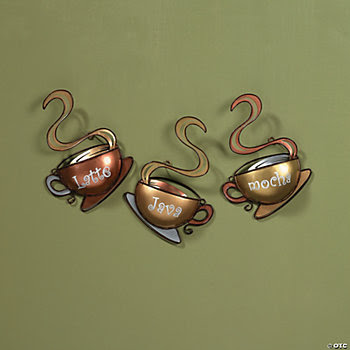 Coffee Mug Wall Décor, Wall Art and Decorations, Home Decor ...