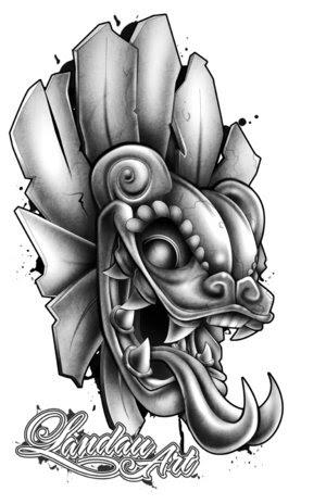 Aztec Tattoos Design Aztec tattoo flash art and sheets from Superior Tattoo.