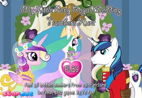 My Little Pony Royal Wedding Game   Games For Girls Box