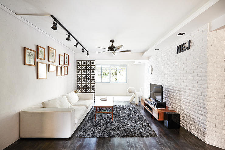 9 chic homes with white brick walls  Home \u0026 Decor Singapore