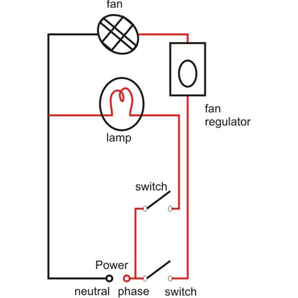 electrical circuit diagram of geyser