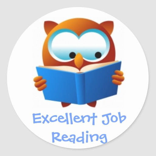 Excellent Reading Award Stickers