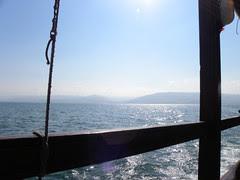 Morning Sun on the Sea of Galilee