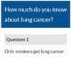Lung cancer quiz