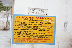 Notice Board For Foreigners Coming To Pushkar by firoze shakir photographerno1