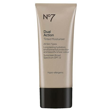 No7 Dual Action Tinted Moisturizer Spf 15 Fair   1.6oz in