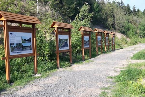 a84895f03 Novinka v lesoch pri Poprade: 10 km okruh pre cyklistov, bežcov aj peších  turistov