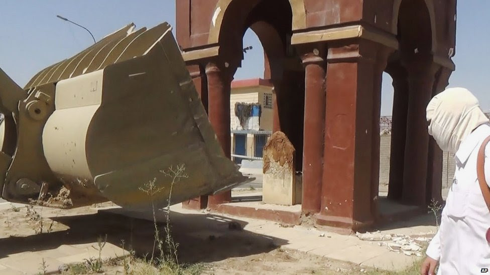Tomb of the girl in Mosul