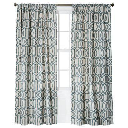 Threshold™ Farrah Lattice Window Panel...KWID imperial trellis knockoff