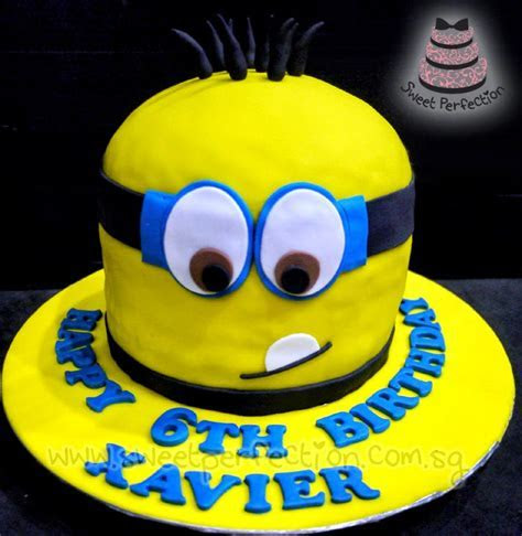 Sweet Perfection Cakes Gallery: Code Minions02   Happy 6th