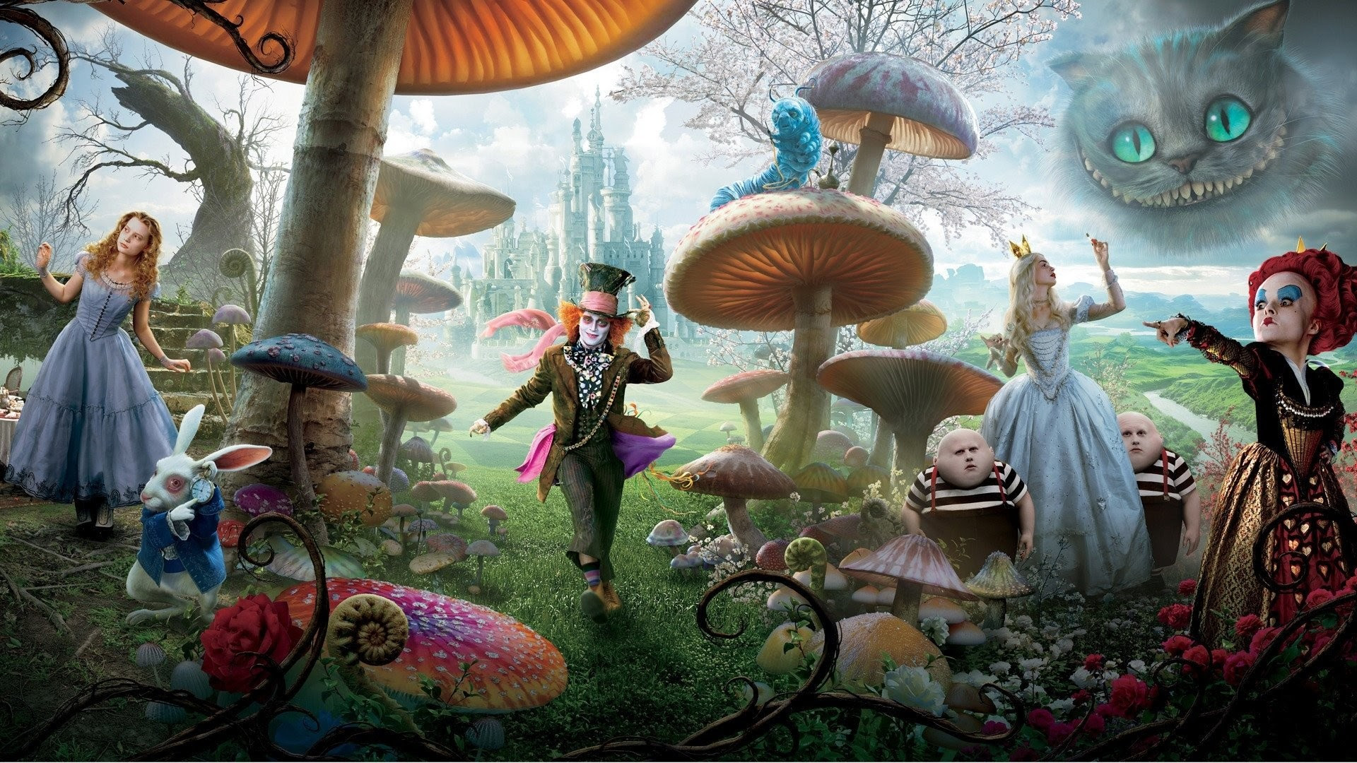Alice In Wonderland Hd Wallpapers 69 Images - alice in wonderland roblox id