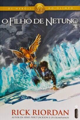 """""""O Filho de Netuno"""" - Rick Riordan - Ed. Intrínseca - R$ 39,90. Foto: Reprodução"""