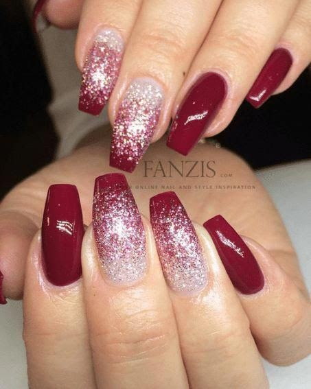 Christmas Acrylic Nails Coffin Nail And Manicure Trends