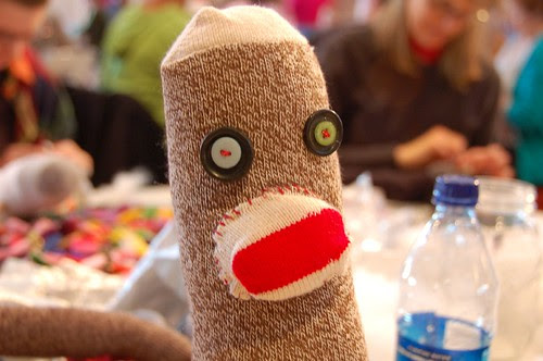 Sock Monkey making