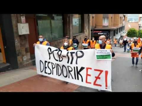 Miles de personas se manifiestan en Sestao contra la desindustrialización de la Margen Izquierda