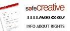 Safe Creative #1111260038302