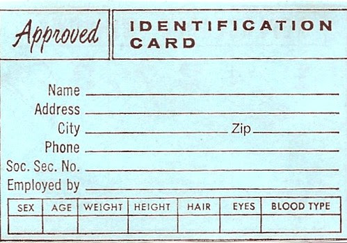 Identification Card (Approved)