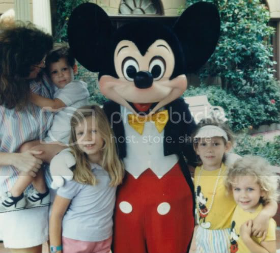 disney world,1987