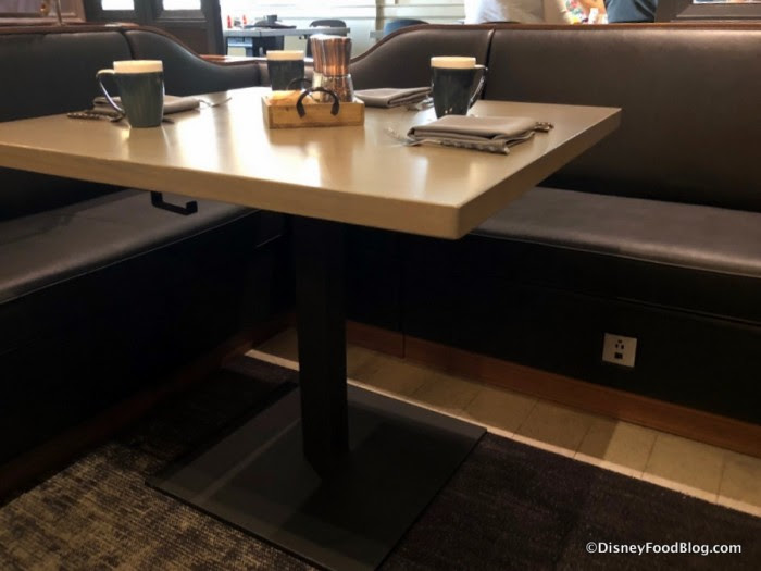 Charging Station spotted under booth