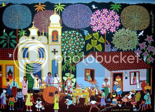 Arte Naïf - Militão dos Santos
