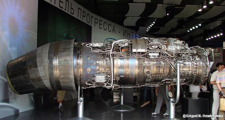 UFA/Saturn 117S PAK FA temporarily engine