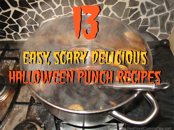 Easy Scary Delicious Halloween Punch Recipes For Kids And Adults