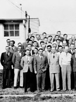 A real photo of the Nazi scientists who were secretly smuggled into the USA after WW II to share Nazi technology and further develop it here in America.