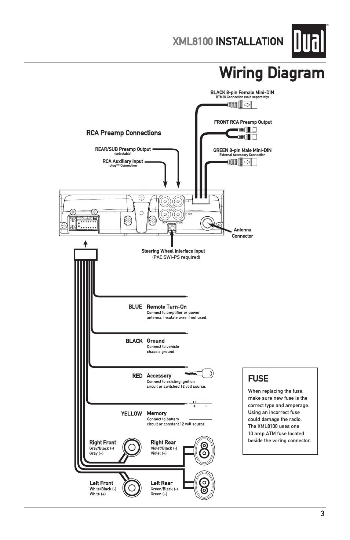 8 pin mini din wiring diagram