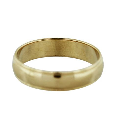 yellow gold mens wedding band ring boca raton