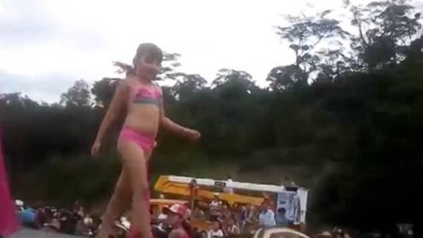 """Polémico. El concurso """"Miss Tanguita"""" en Colombia."""