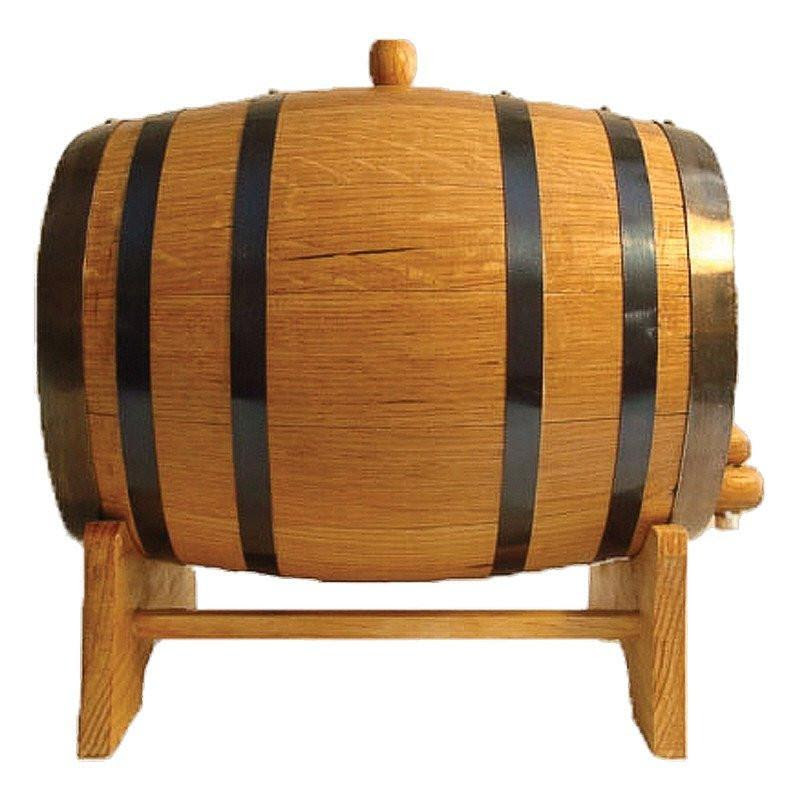 Oak Barrel For Aging Spirits Wine And Beer From North City Growlers