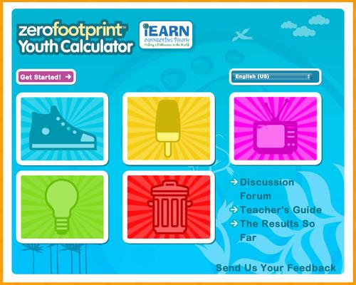 David lee edtech kid 39 s zero footprint calculator for for Zero footprint homes
